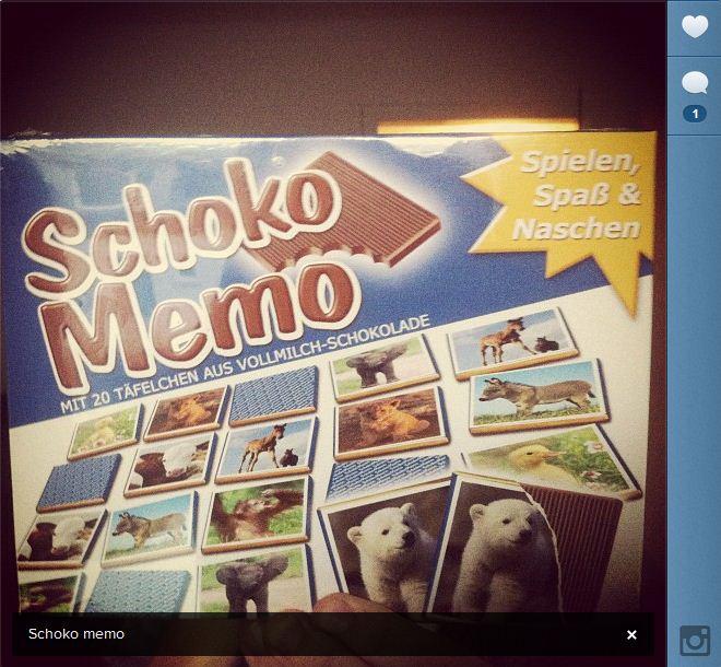 Besser als Weihnachten: Schoko Memo