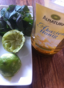 Limette-Minz Tee: kann man auch selber machen