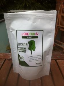 Spinatpulver von Lebepur für Grüne Smoothies