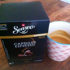 Verdammt heiß: Senseo Capsules Kaffee