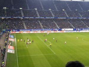 HSV - Werder am 23.11.2014. Danke an Andrea für das Foto!