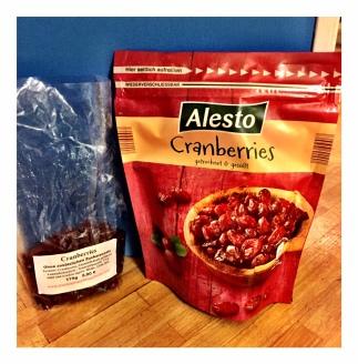 Cranberries Alesto Lidl und Markt