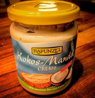 Kokos-Mandel Creme von Rapunzel